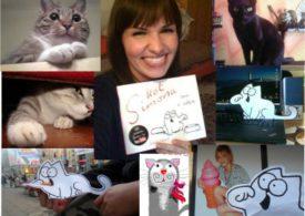 Kot Simona - 10 000 fanów na Facebooku bez wsparcia mediowego