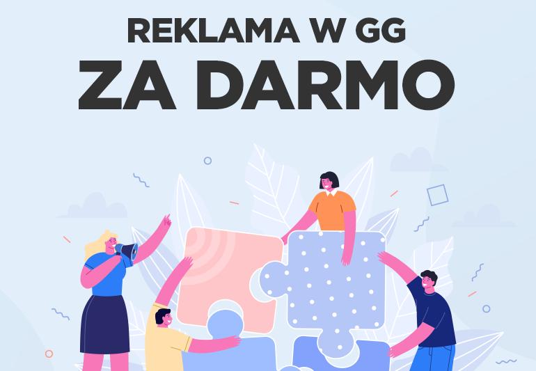 GG (Gadu-Gadu) wesprze polskie firmy darmową reklamą ich usług