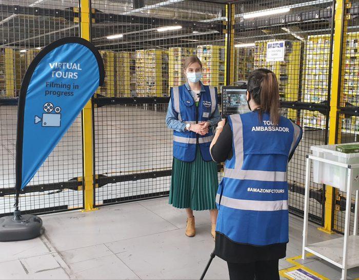 Amazon zaprasza na wirtualne zwiedzanie centrów logistycznych w Polsce