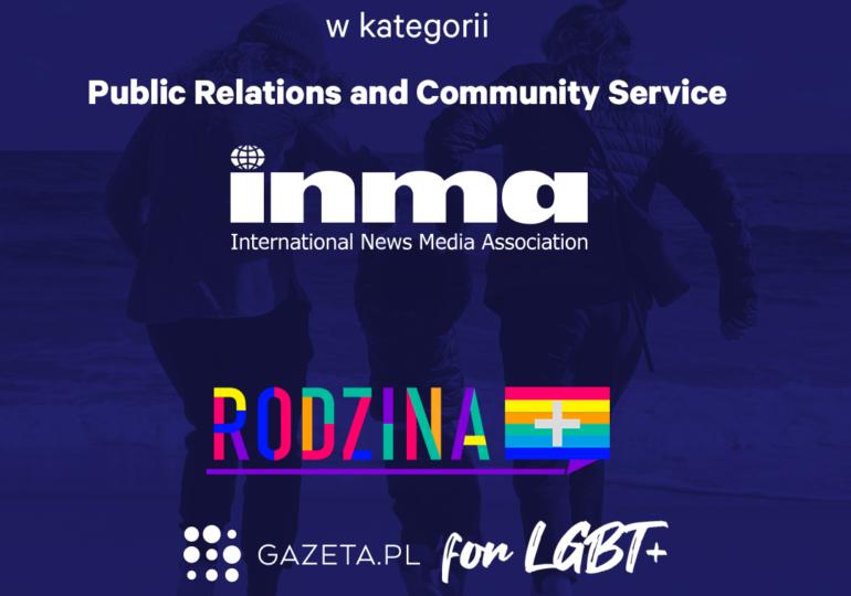 """Gazeta.pl i """"Gazeta Wyborcza"""" z nagrodami INMA Global Media Awards 2021"""