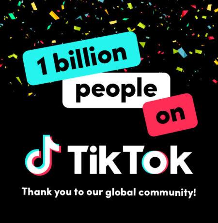TikTok ma już 1 miliard użytkowników na świecie